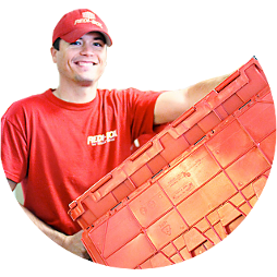 Moving Box Delivery Man